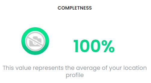 pourcentage d'avancement d'un profile solocal