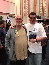 Daniel Sarandson and Brad Harenson