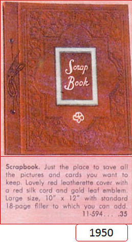 The first scrapbook for Brownies