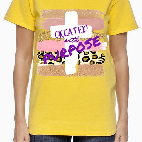 Created with Purpose       -Female-