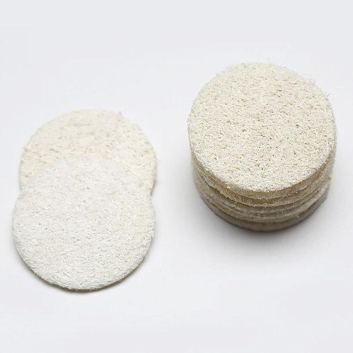 10pcs Facial Exfoliate Loofah Sponge