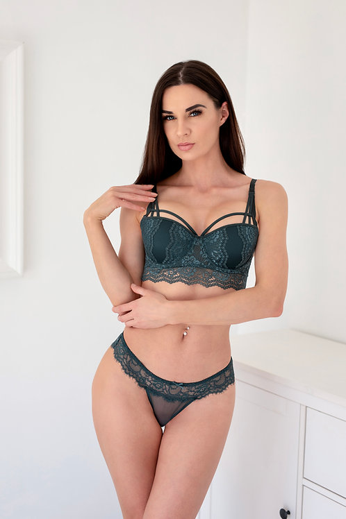 Isabella - Teal Extra Boost Padded Bra