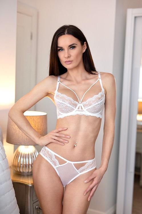 Celine - White Lace Bra