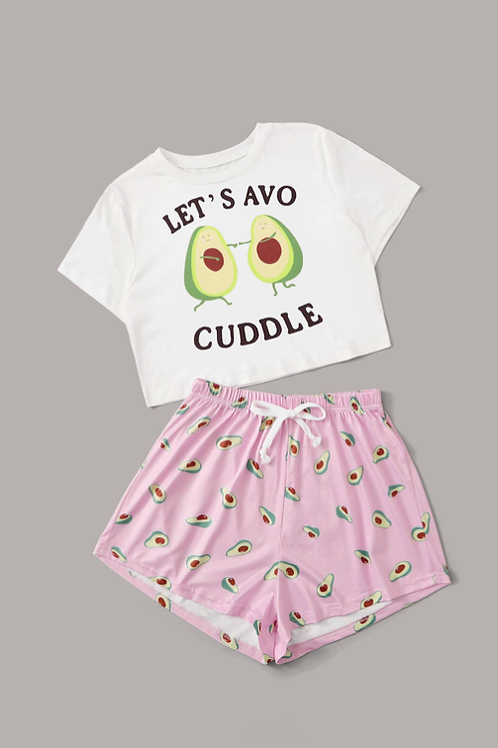 Let's Avo Cuddle Pyjamas