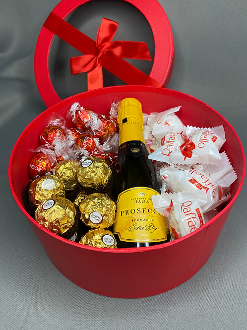 Large Luxury Chocolate and Alcohol Gift Box