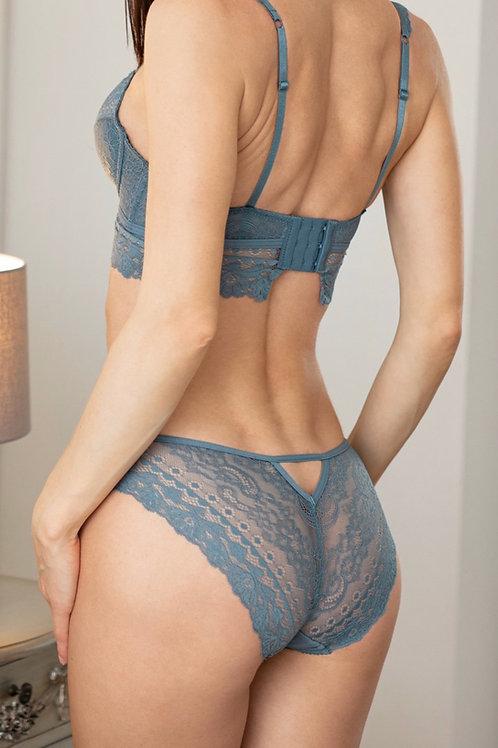 Skyla - Blue Lace Knickers
