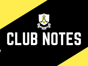 Club Notes - January 20th, 2021