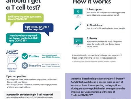 T-DetectTM COVID test