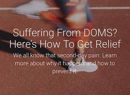 Suffering From DOMS? Here's How To Get Relief