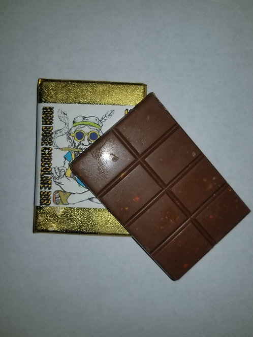 THC Milk Chocolate and Peanut Butter Cocolate Bar