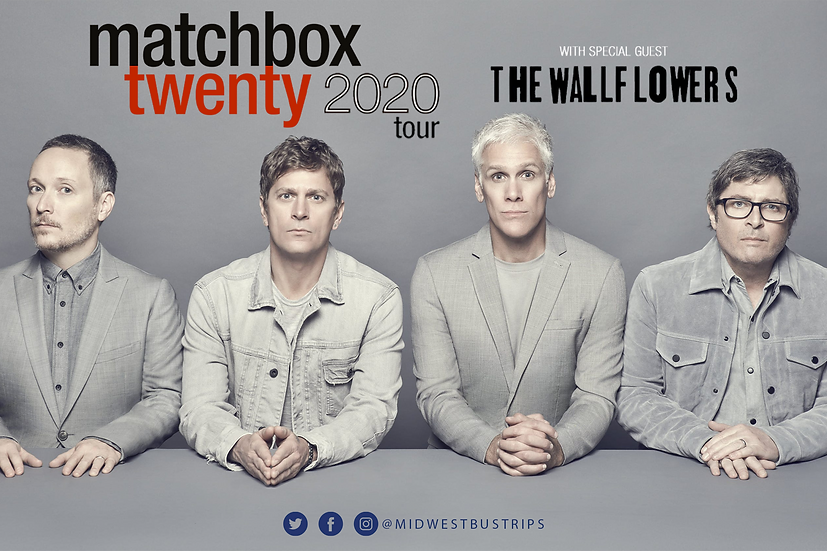 MATCHBOX TWENTY 08.18.21 ( Originally 08.23.20)