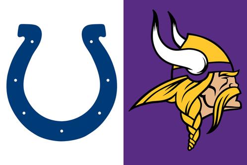 Image result for Colts vs. Vikings