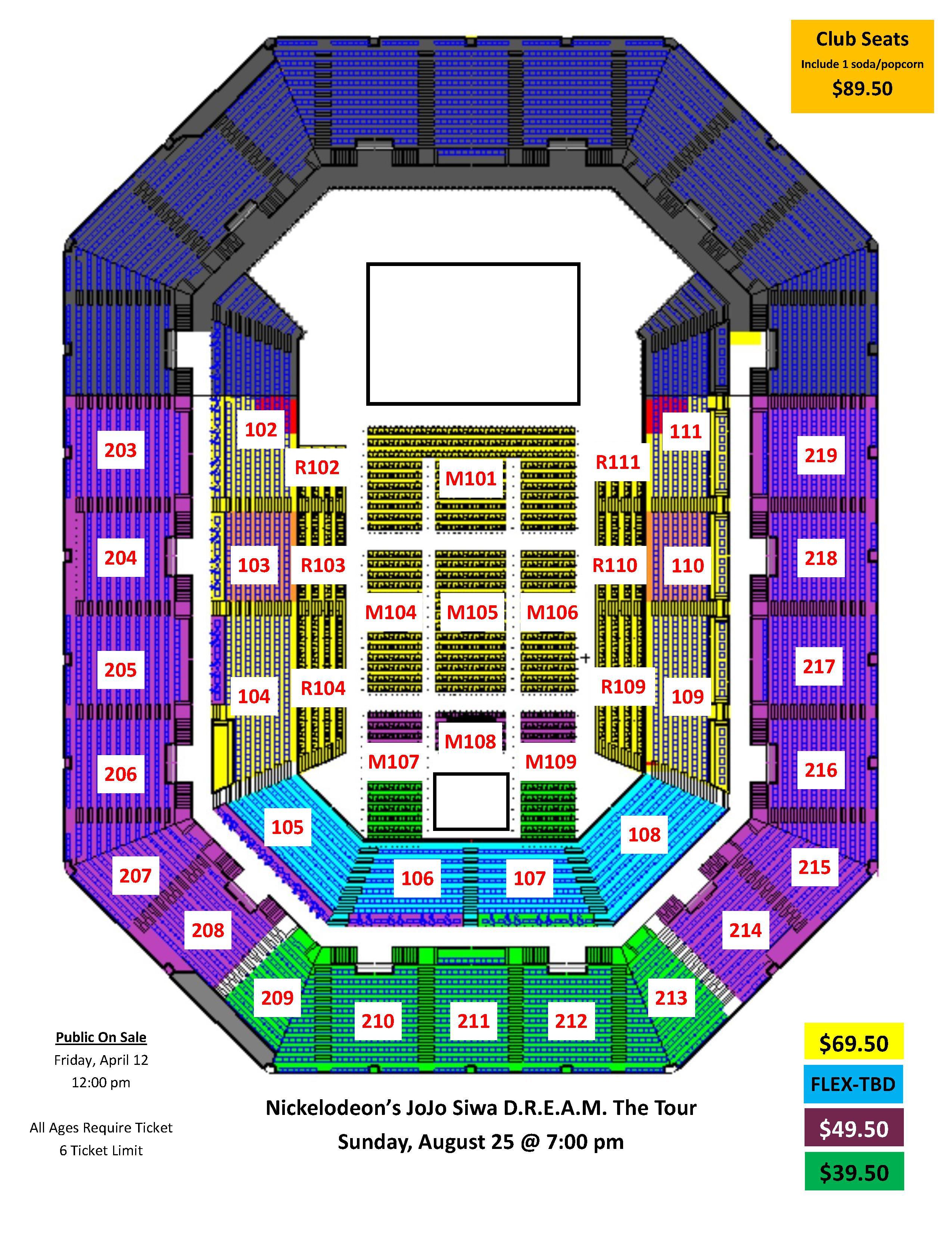 JoJo Siwa D R E A M The Tour 08 25 19