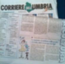 Naturalmente Danza su Il Corriere dell'Umbria