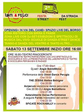 La performance di Naturalmente Danza presso Unti&Felici 2014