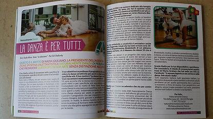 La danza è per tutti, Piacere Magazine pp 48 e 49
