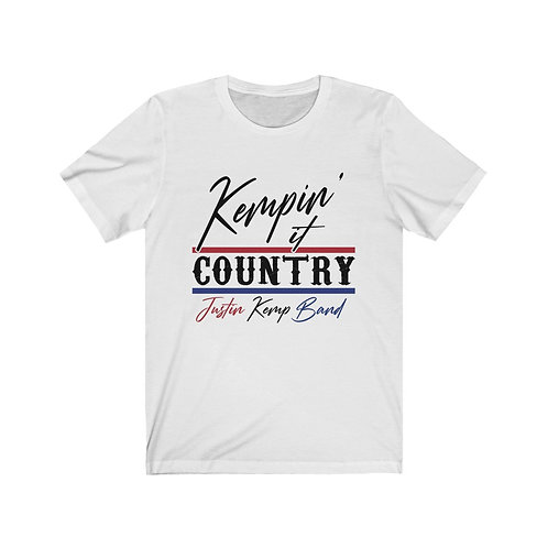 Kempin' It Country Tee (Red/Black/Blue)