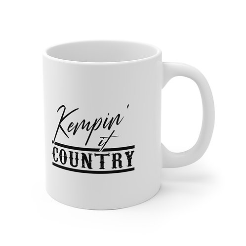 Kempin' It Country - White Mug