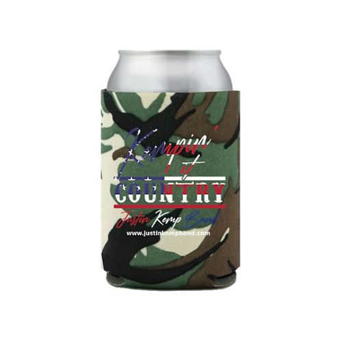 Kempin' It Country Koozie