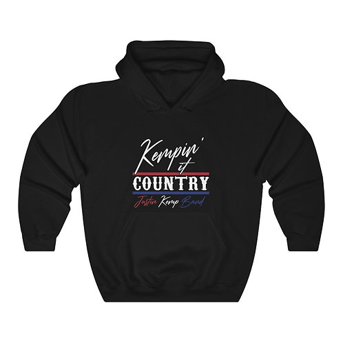 Kempin' It Country Hoodie (Red/White/Blue)