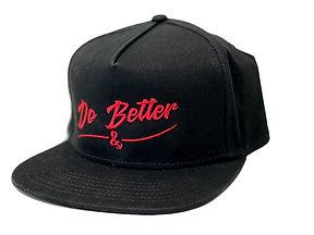 Do Better Snapback Hat Cardinal