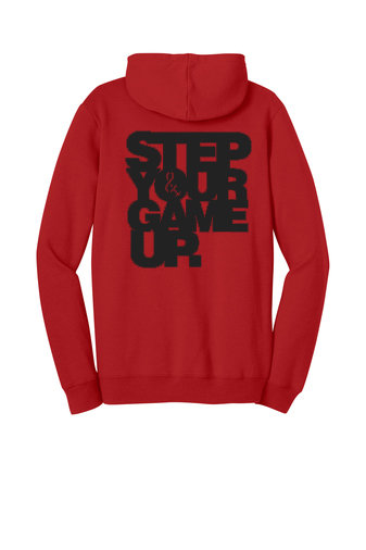 Step Your Game Up Hoodie Red