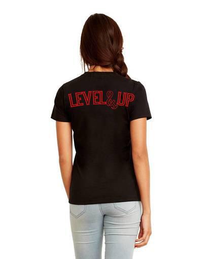 Level Up Boyfriend Tee Black
