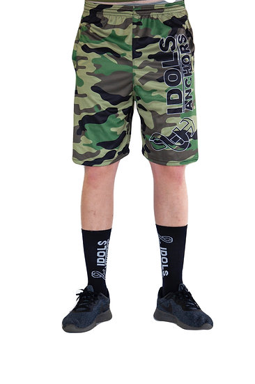 Men's camo basketball shorts