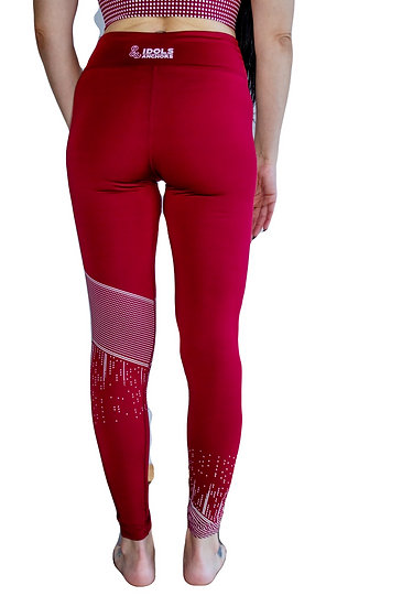 Skyscape Leggings -Wine