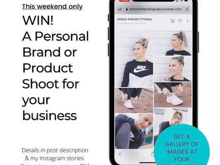 Competition - Win a Photoshoot for your Business!