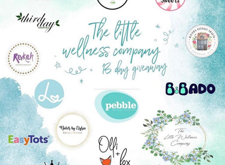 13 day giveaway with The Little Wellness Company