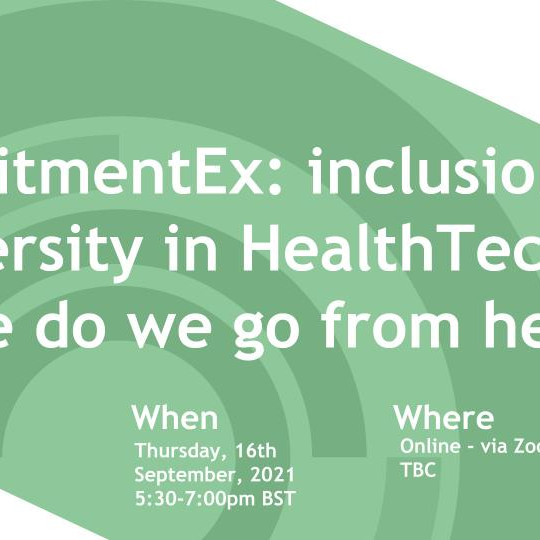 OHT Manchester: Diversity & Inclusion IS the Future of Health tech