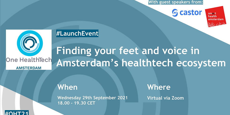 OHT Amsterdam's Official Launch Event