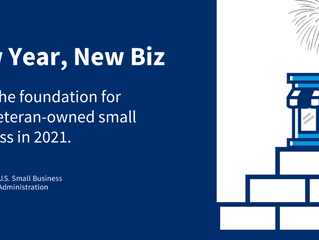 Building the Foundation for Your #VetBiz in 2021