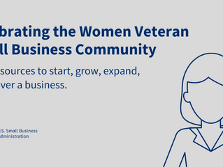 Celebrating the Women Veteran Small Business Community