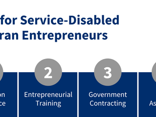 From Service to Startup: Tips for Service-Disabled Veteran Entrepreneurs