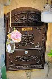 Post box Lourmarin