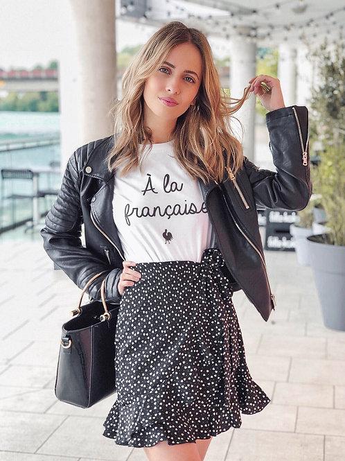 Short Sleeve t-shirt:  A la Francaise