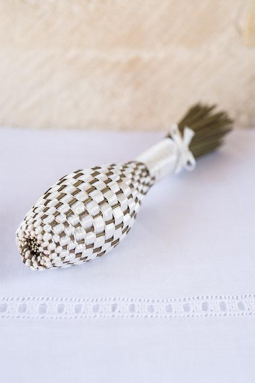 Lavender Wand - White Silk
