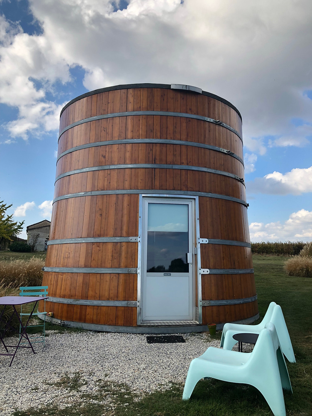 Did you know you can sleep in a wine barrel?