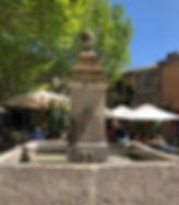 Gordes Fountain