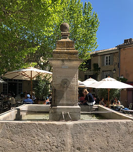 Gordes Fountain