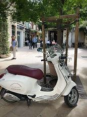 Vespa St Remy de Provence