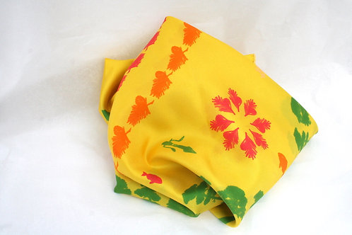Silk Scarf  ANGLET - Collection Pays Basque