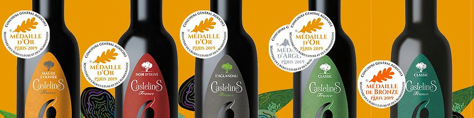 Award-winning olive oils from Provence, France