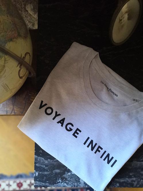 Short Sleeve t-shirt:  Voyage Infini