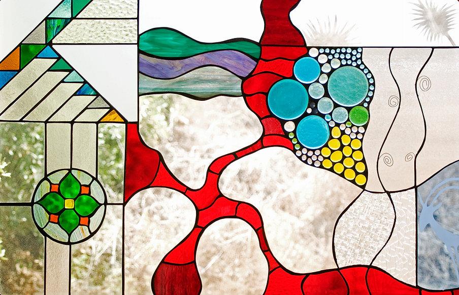 עיצוב בזכוכית דורית שלום