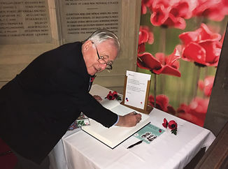 Remembrance Book Westminster 2018.JPG