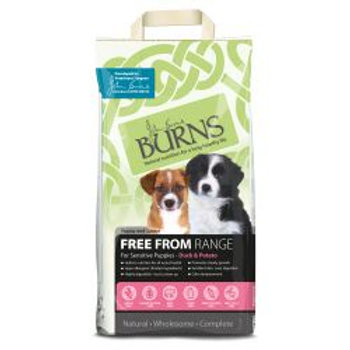 Burns Free From Puppy Duck & Potato