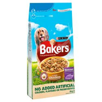 Bakers Complete Senior Chicken & Rice